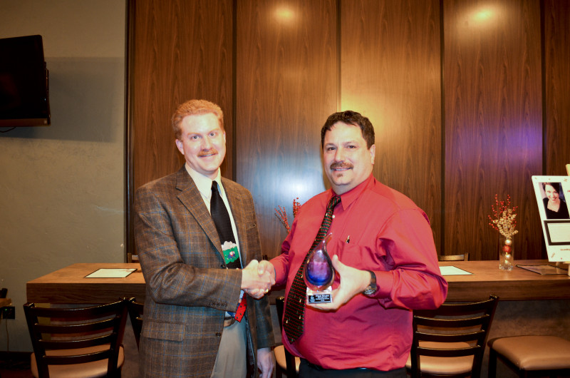 Past president Paul Kruse's efforts are appreciated