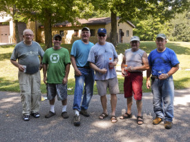 The Oconto River Trout Unlimited members who helped