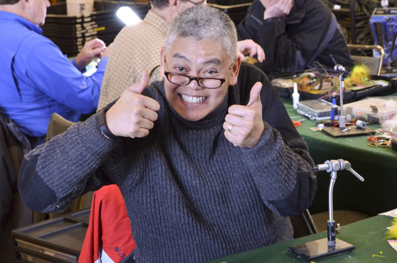 Allan Jamir giving two thumbs up