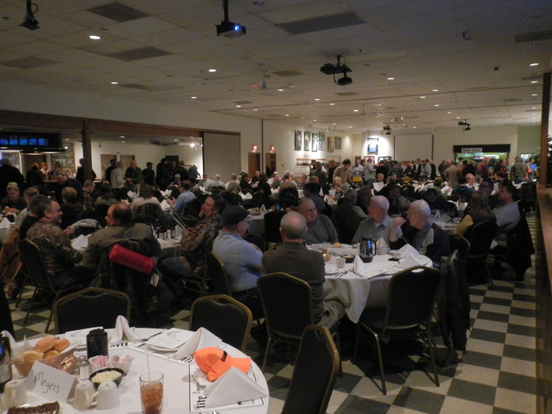 ~350 banquet attendees ! image