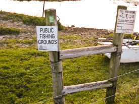 protect public Fishing Grounds Access