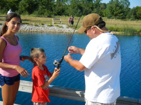 July 14th Kids Fish Day Picture Gallery