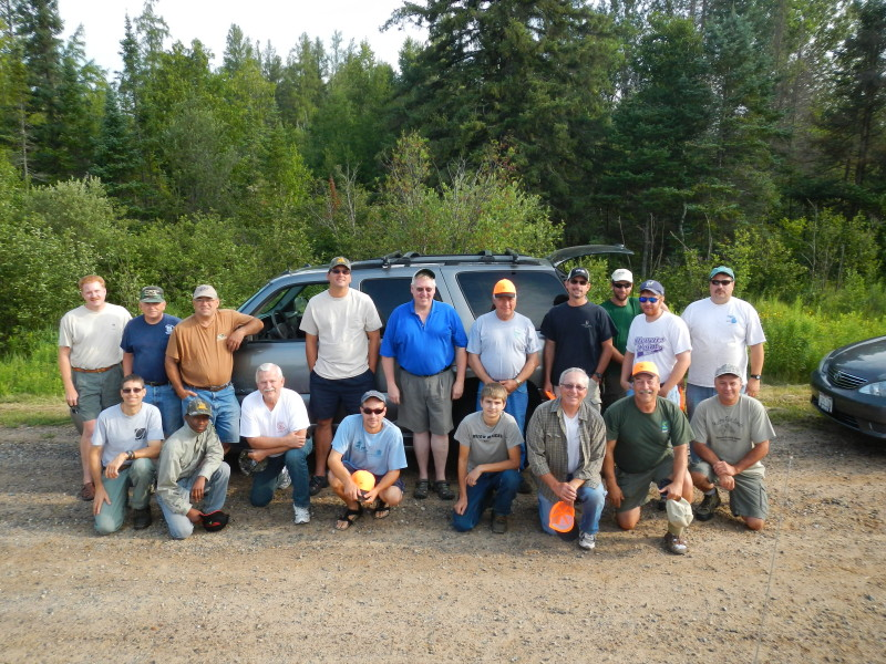 North Branch Oconto Work Crew ready to work