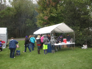 Attendees had a chance to enjoy brats and hot dogs