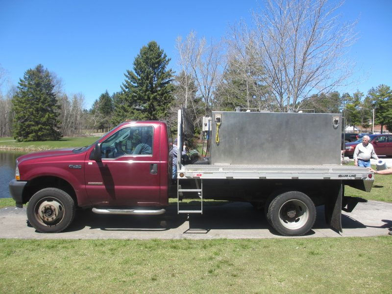 WDNR Trout Stocking Truck