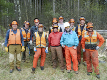 Chainsaw crew picture