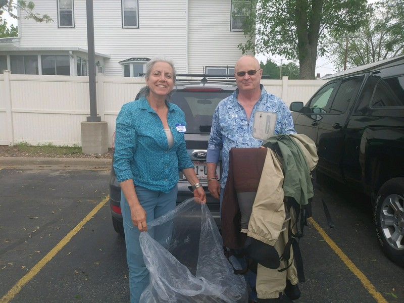 GBTU Donates Youth Waders and Boots to WITU