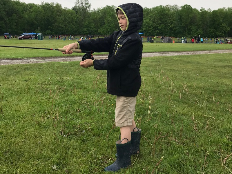 June 1 – Take-a-Kid-Fishing Day Summary & Pictures