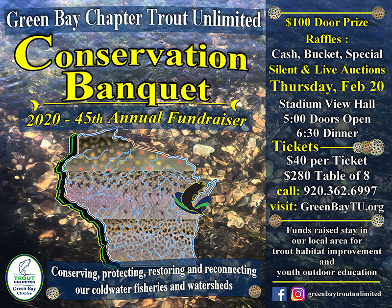 GBTU 45th Annual Conservation Banquet