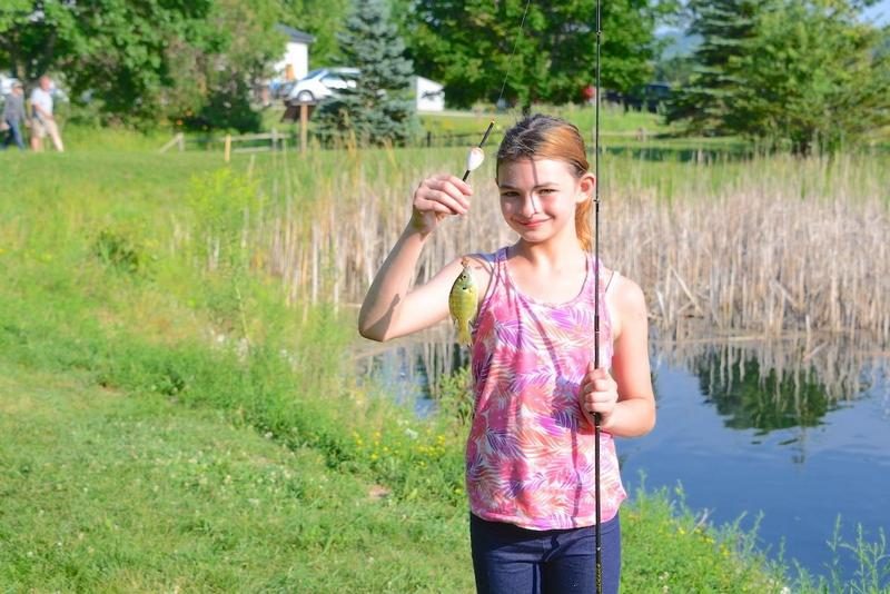 July 26 – Kids' Fishing Day Summary and Pictures